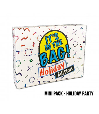 It's in The Bag! - Holiday Party - Newest Game for Parties! Halloween, Thanksgiving, Christmas! Laugh Out Loud in This Game of Teamwork. Describe, Guess and Charades! Act Fast! 4-20 Players!