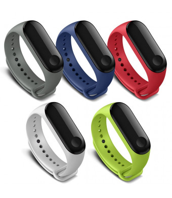 FUNKID Band for Xiaomi 3 Smartwatch Wristbands Replacement Accessaries Straps Bracelets for Mi3 (Not for Mi1/2)