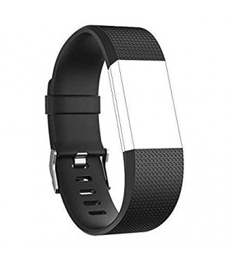 Nylea Fitbit Charge 2 Bands [Magnetic Loop] - Premium Quality Stainless Steel Wrist Band for Fitbit Charge 2 Replacement - Best Bracelet Clasp Strap Watch Band