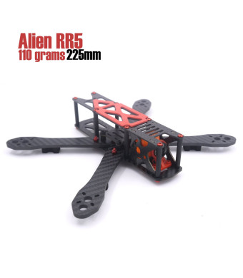 LEACO RC Alien RR5 5 inch 225mm 110g aluminum screws and nuts quadcopter drone frame kit