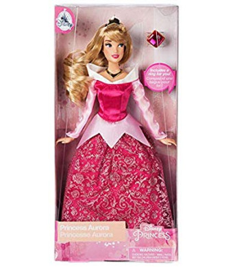 SleppingB Disney Store Aurora Classic Doll with Ring -11 1/2'' 2018 Version
