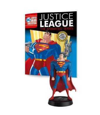 Eaglemoss DC Super Hero Collection: Justice League The Animated Series #1: Superman Resin Figurine