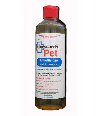 Allersearch Pet+ Dog Shampoo 16 Oz
