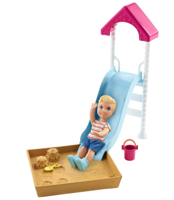 Barbie Skipper Babysitters Inc. Playground Playset