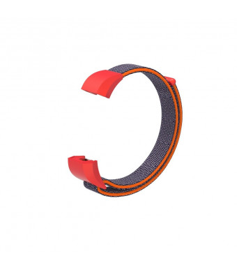 FUNKID Nylon Band for Fitbit Ace Smartwatch Wristbands Adjustable Straps Replacement for Children Kids