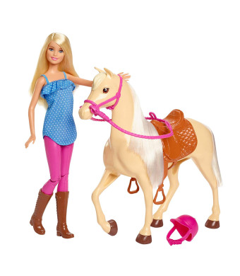 Barbie Doll and Horse, Blonde