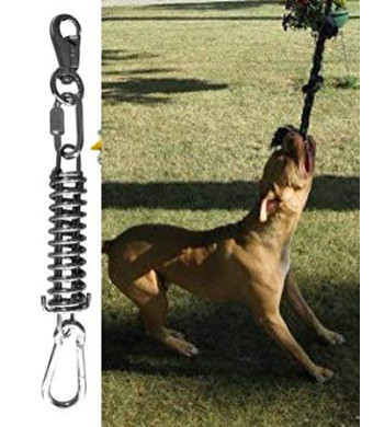 Spring Pole - (1) Dog Conditioner - Muscle Builder Tug Rope NOT Included! - Fun for Piit Bull Bully and all Breeds! - Prime Shipping!