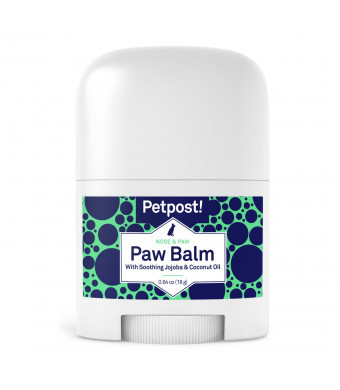 Petpost | Paw Balm for Dogs - Nourishing Cream Soothes Itchy, Dry Dog Paws with Organic Ingredients - Moisturizing Coconut Oil, Jojoba Oil, and Shea Butter