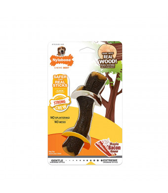 Nylabone Strong Chew Real Wood Stick Dog Toy