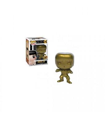 Funko Pop Movies: Gold Bruce Lee Collectible Figure, Multicolor