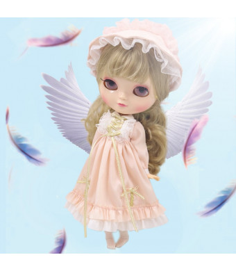 Fortune Days Original ICY dolls (with Gift Box), 12 Inch Doll with Natural Skin and C Cup Breast, 19 Movable Joints Body with Accessories. (3227, 30cm)