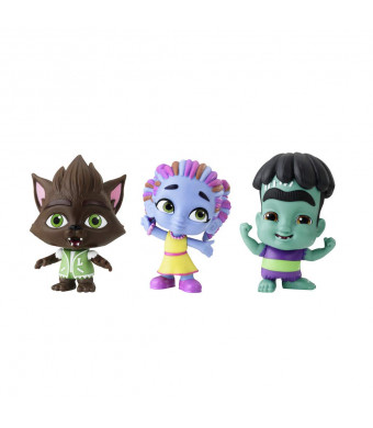 Netflix Super Monsters Set of 3 Collectible 4-inch Figures Monster Trio (Amazon Exclusive)