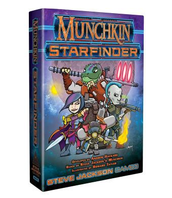 Steve Jackson Games SJG4471 Munchkin Starfinder Games