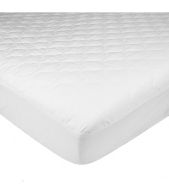 American Baby Company Ultra Soft Waterproof Fitted Quilted Mattress Pad Cover, Portable/Mini-Crib - Vinyl Free