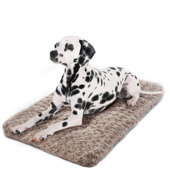 perpets Dog Bed Ultra Soft Crate Pad Home Washable Mat for Dogs and Cats Crate