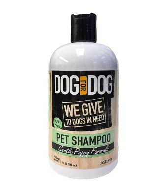 DOG for DOG Puppy Shampoo for Dogs - Nourishes Dog Hair, Skin with Gentle Puppy Formula - Unscented Pet Shampoo