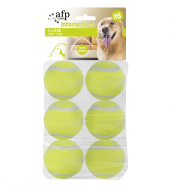 All for Paws Interactive Automatic Dog Ball Launcher, Hyper Fetch Dog Tennis Ball Throwing Toy Includes 3 Tennis Balls