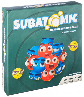 Subatomic: an Atom Building Game by Genius Games | A Strategy Board Game with Accurate Science for Gamers and Teachers!