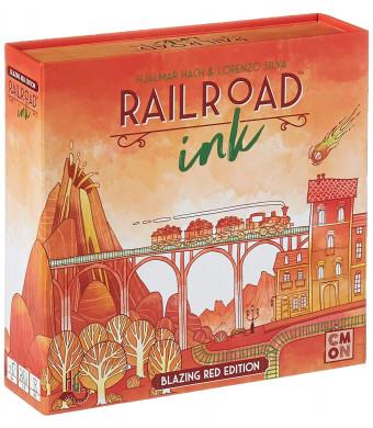 CMON RRI002 Rri002 Railroad Ink: Blazing Red