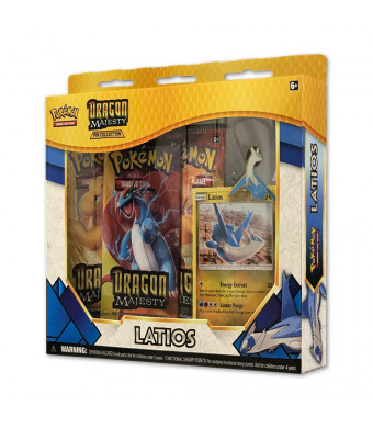 Pokemon TCG: Dragon Majesty Pin Collection Box - Latios