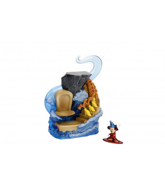 Nano Metalfigs 99984 Jada Toys Disney's Scene Display with Mickey Die Cast Figure, Color, Multicolor