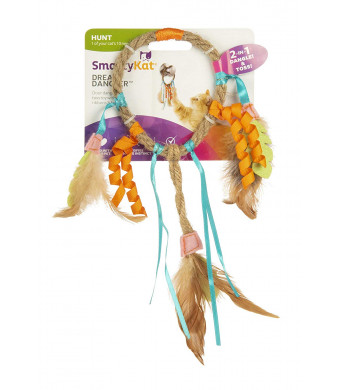 SmartyKat Dream Dangler Jute and Feather Cat Toy
