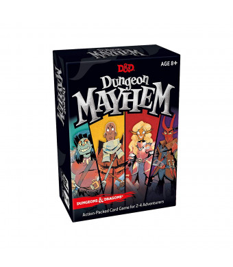Dungeon Mayhem | Dungeons and Dragons Card Game | 24 Players, 120 Cards