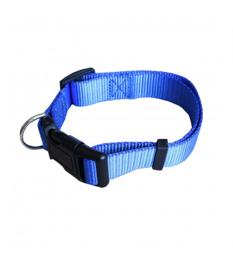 CANAVIS Small Dog Training Collar Blue Pet Dog Training Collar for Small Dog with 9in to 14.5in Neck Size