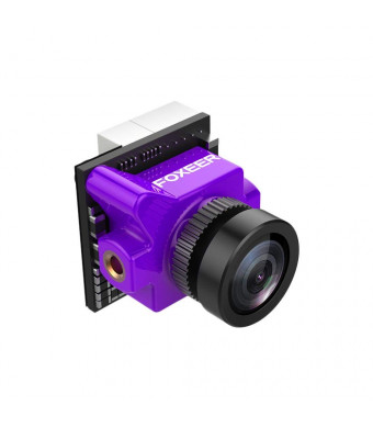 Foxeer Predator Micro V3 FPV Camera 1.8mm 4:3/16:9 PAL/NTSC Super WDR OSD - Purple