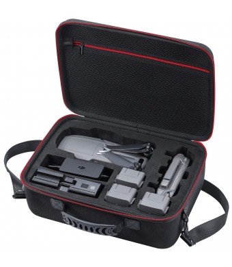Zadii Hard Carrying Case Compatible with DJI Mavic 2 Pro and Mavic 2 Zoom Drone, Fit Fly More Combo, Hold 4 Batteries, Car Charger, Charging Hub and Power Adapter