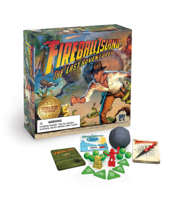 Restoration Games Fireball Island: The Last Adventurer