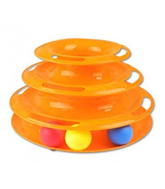 LightbyBox Amazing Roller Cat Ball Toy Interactive Cat Ball Toy Charmer Active Multiple Cats