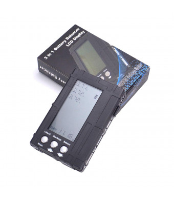 YoungRC 3in1 RC Battery Capacity Checker Balance Discharger Servo Tester for Lipo Battery