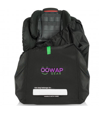 Car Seat Travel Bag  Travel Easier/Save Money - Car Seat Bags for Air Travel by Oowap  Carseat Travel Bags and Durable Airport Gate Check Bag for Car Seats and Booster Seats