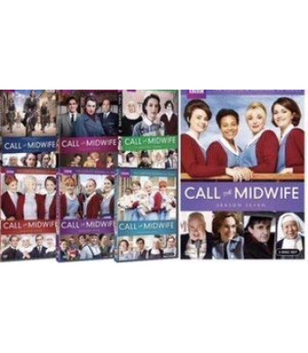 Call The Midwife: Complete Series Seasons 1-7 DVD