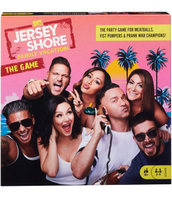 Mattel Jersey Shore Family Vacation Game
