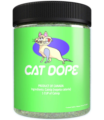 Cat Dope Catnip, Maximum Safe Blend for Cats, Infused with High Premium Potency Your Kitty is Guaranteed to Go Crazy for!