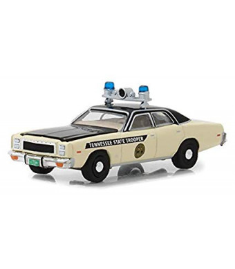 1977 Plymouth Fury Tennessee State Trooper Police Hot Pursuit Series 28 1/64 Diecast Model Car by Greenlight 42850 A
