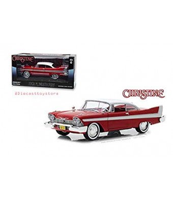 New DIECAST Toys CAR Greenlight 1:24 Hollywood - Christine 1983-1958 Plymouth Fury 84071