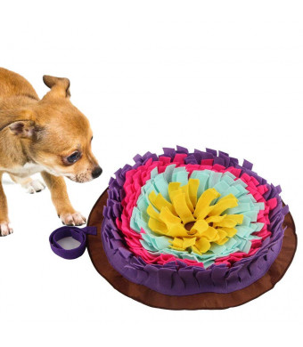 Langxian Pet Snuffle Mat,Feeding Mat for Dogs,Small/Large Dog Training Pad Pet Sniffing Mat for Preventing Digestive Problems, Encourages Natural Foraging Skills,Stress Release