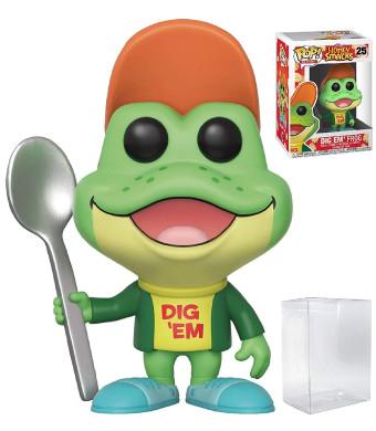 Funko Pop! Ad Icons - Kellogg's Honey Smacks Dig Em' Frog Vinyl Figure (Bundled with Pop Box Protector Case)