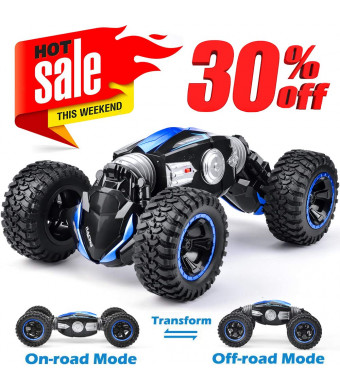 NQD RC Car Off-Road Vehicles Rock Crawler 2.4Ghz Remote Control Car Monster Truck 4WD Dual Motors Electric Racing Car, Kids Toys RTR Rechargeable Buggy Hobby Car