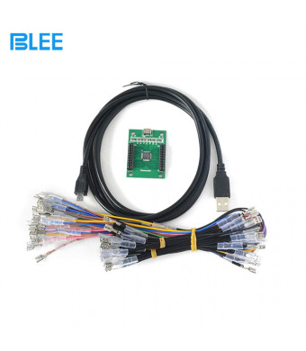 BLEE Retro Arcade us Arcade Game Controller USB Interface PCB Kit for PC (MAME)/PS3 to Mame for 2 Player