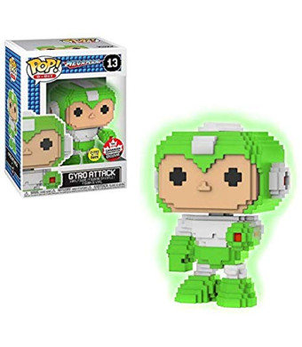 Funko POP! Mega Man 8-Bit Gyro Attack Glow in The Dark #13