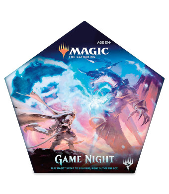 Magic: the Gathering Magic Game Night Card Game for 25 Players | 5 Decks | 5 Dice | Accessories