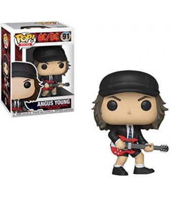 Funko Pop! Rocks: AC/DC - Agnus Young (Styles May Vary) Toy, Multicolor