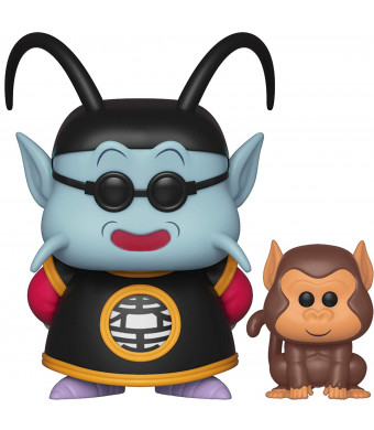Funko Pop! and Buddy: Dragon Ball Z - King Kai and Bubbles Toy, Multicolor