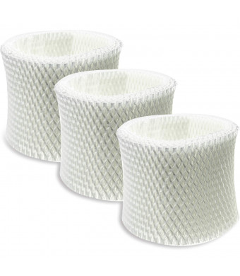 SKROS 3-Pack Comtatible Humidifier Wicking Filters Replacement for Honeywell HC-888, HC-888N, Filter C