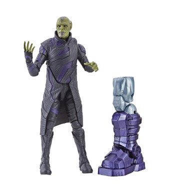 Marvel Captain Marvel 6-inch Legends Talos Skrull Figure for Collectors, Kids, and Fans