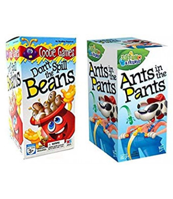 Games Kids Set (Bonus LJIF LAPPY Pen) Ants in The Pants and Don't Spill The Beans Gift Set Bundle - 3 Pack A